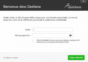 inscription dashlane