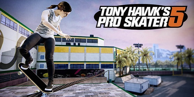 3431236 TONY HAWK PRO SKATER 5: GAMEPLAY + ANNONCE