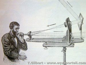 photophone de Alexander Graham Bell inventeur du téléphone