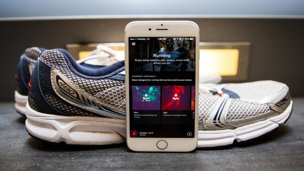spotify running musique présentation