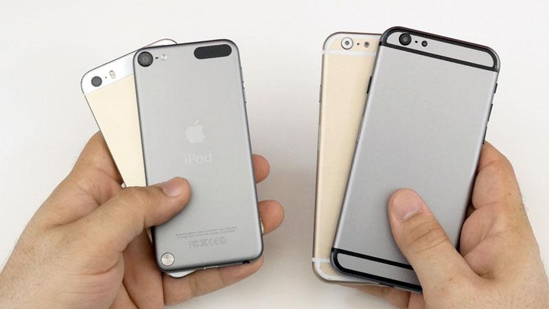 ipod touch 6 un nouvel arrivant phas avec l 39 iphone 6. Black Bedroom Furniture Sets. Home Design Ideas