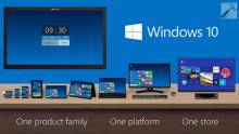 windows 10 date de sortie
