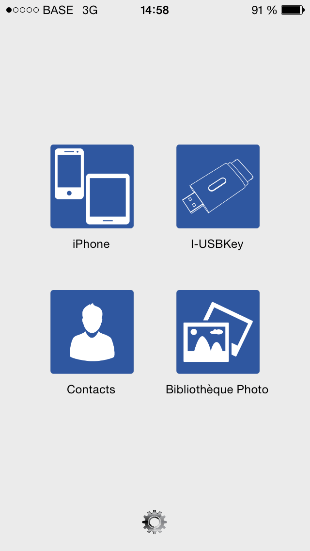 interface iphone i-usbkey clé usb pour ipad