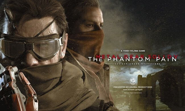 Metal Gear Solid V  The phantom Pain couverture