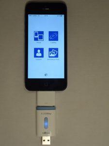 adpateur-iusbkey-225x300 Test de l'I-USBKey : Une véritable clé USB pour iPad et iPhone !