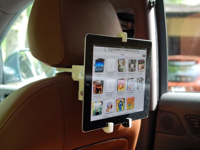 support tablette imprimer 3d
