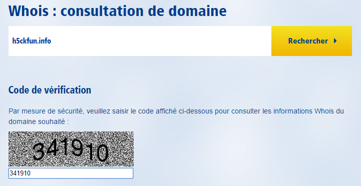 1and1 whois domain tools outil accueil