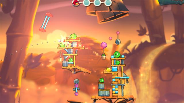 Angry Birds jeu créé avec Uniy3D