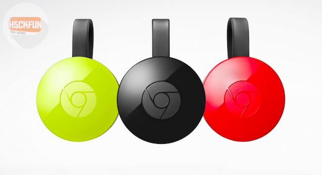 Chromecast audio conférence de google 2015