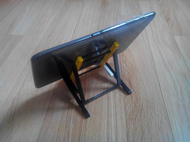 support pour tablette en lego