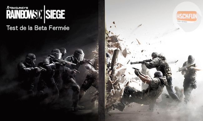 Rainbow Six Siege Beta gameplay test graphisme