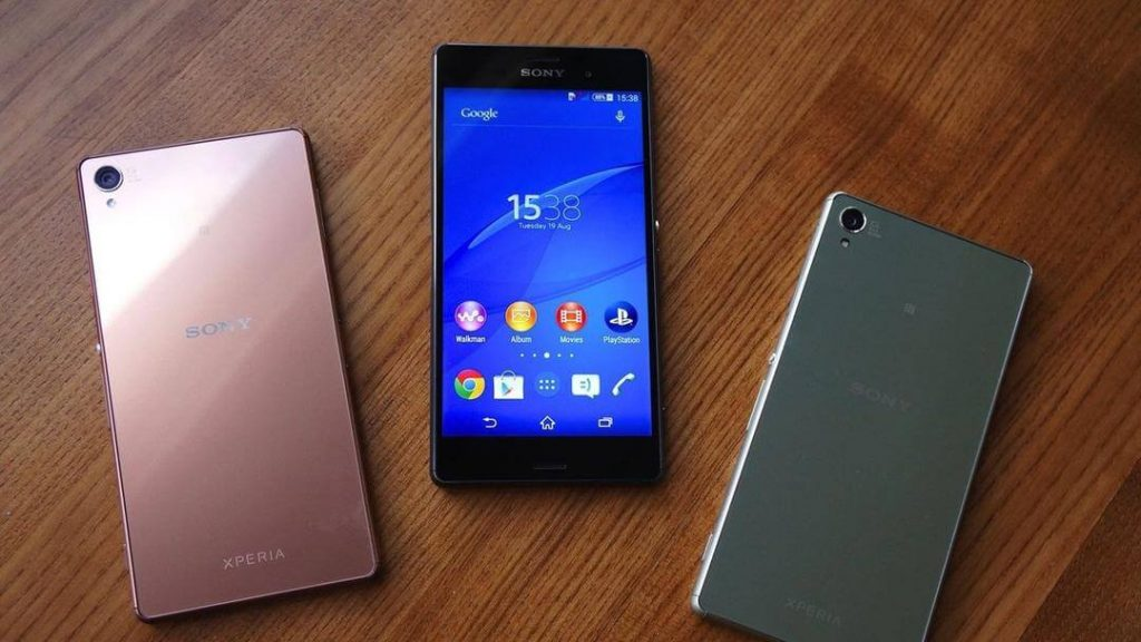 sony xperia z5 un des 3 nouveaux smartphones de sony. Black Bedroom Furniture Sets. Home Design Ideas