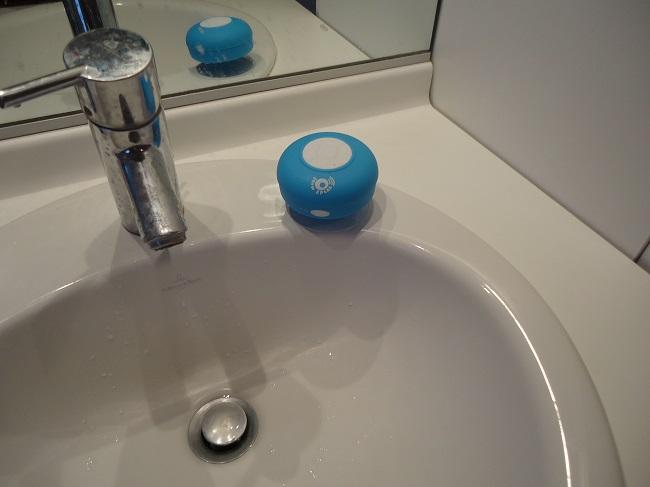 enceinte bluetooth waterproof show speak évier