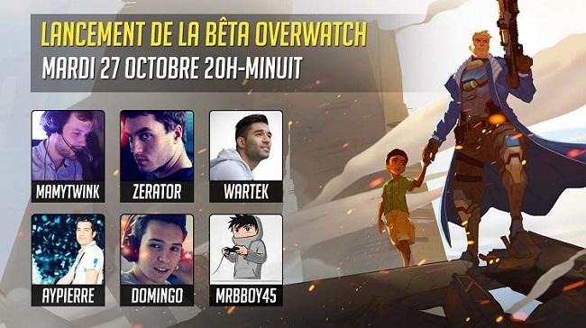 soiree-lancement-beta-overwatch Overwatch : La soirée du lancement de sa bêta : épique !