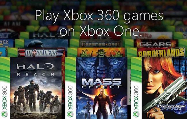 Retrocompatibilité Xbox 360 xbox one windows 10