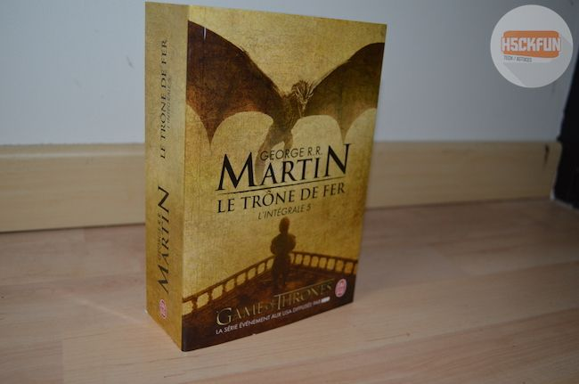 Livre Game of Thrones 5