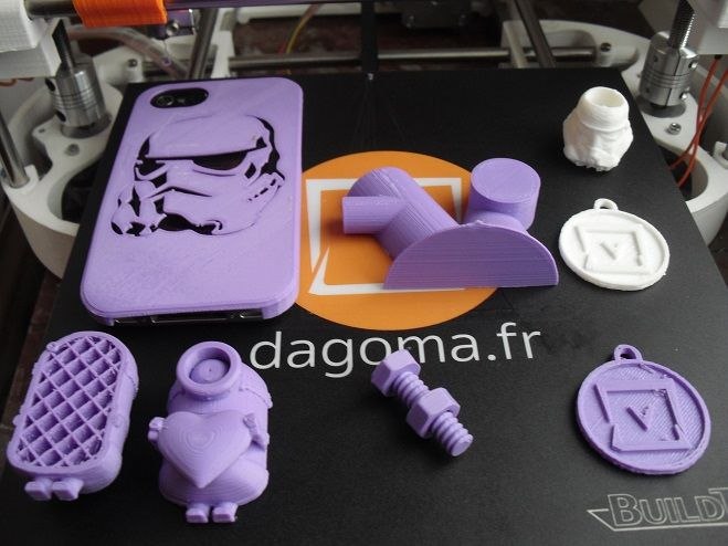 impression 3d objets de test