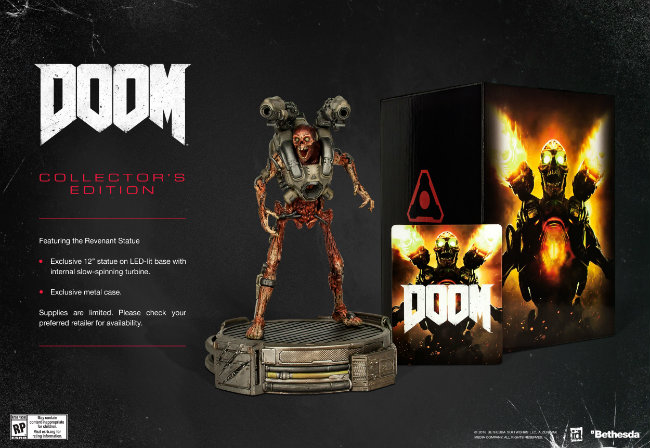 DOOM_CE DOOM sera disponible le 13 mai 2016
