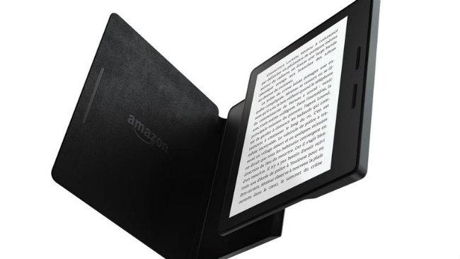 kindle-oasis Kindle Oasis : la nouvelle liseuse haut de gamme d'Amazon
