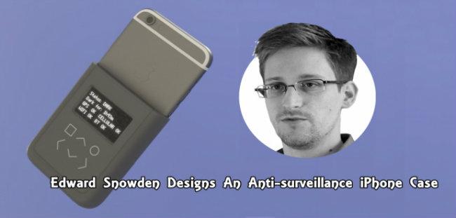 snowdeniphone Edward Snowden invente une coque pour contrer les écoutes téléphoniques