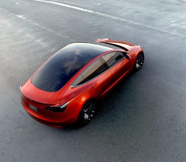 red_1.0-e1479989877338 La Model 3 de Tesla repoussée d'un an ?