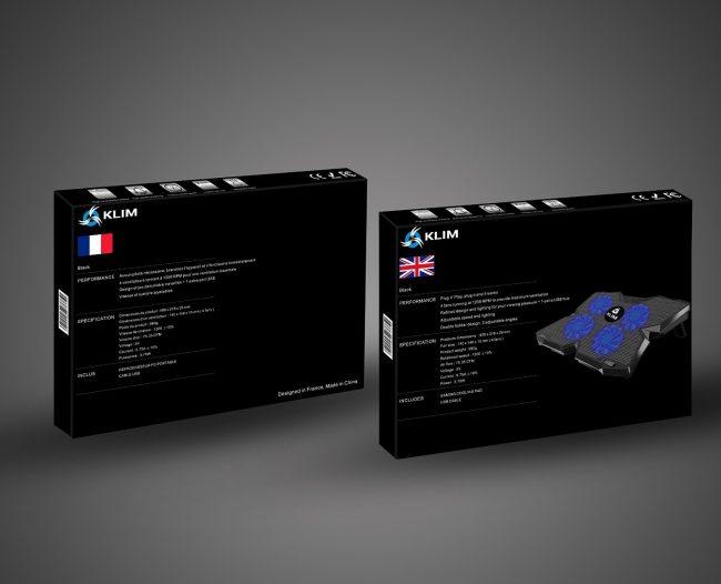 81PjHq1gQrL._SL1500_-e1486303520652 Test du support ventilé pour PC : Klim Wind