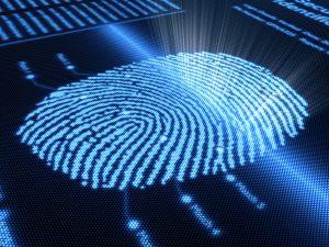 doigt biometrie système