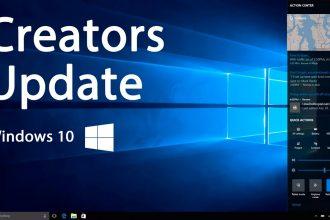 Windows déconseille l'installation de la mise à jour Creators Update