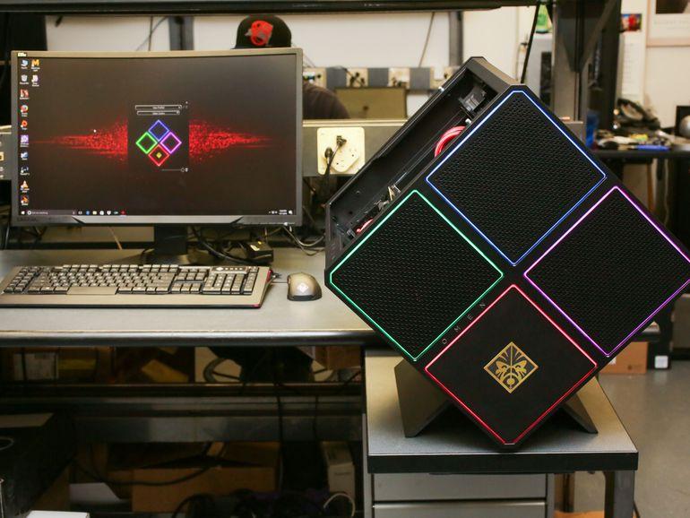 hp-omen-x-17 HP Omen X : un PC bureau de forme inédite et puissance formidable