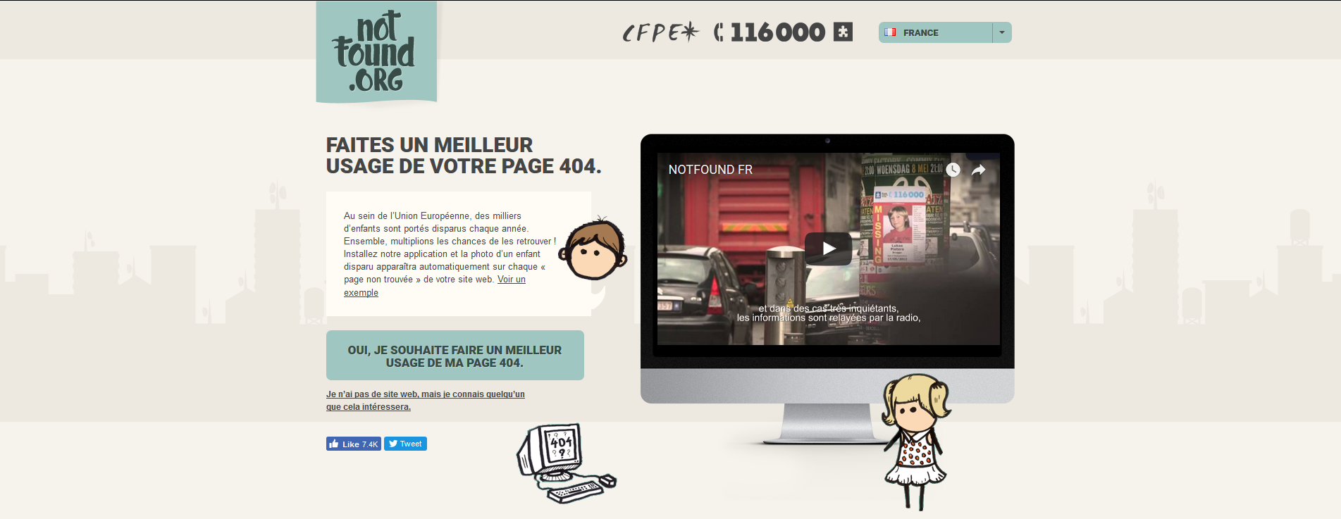 mailleur-usage Page 404 inutile ? Optez pour le Projet NotFound !