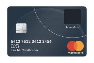 La nouvelle carte bancaire biométrique de MasterCard