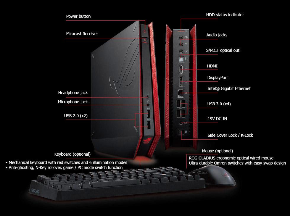 rog-asus-3 ASUS ROG GR8 II : un mini PC tout frais destiné aux gamers