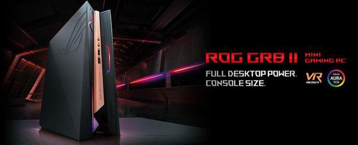 rog-asus ASUS ROG GR8 II : un mini PC tout frais destiné aux gamers