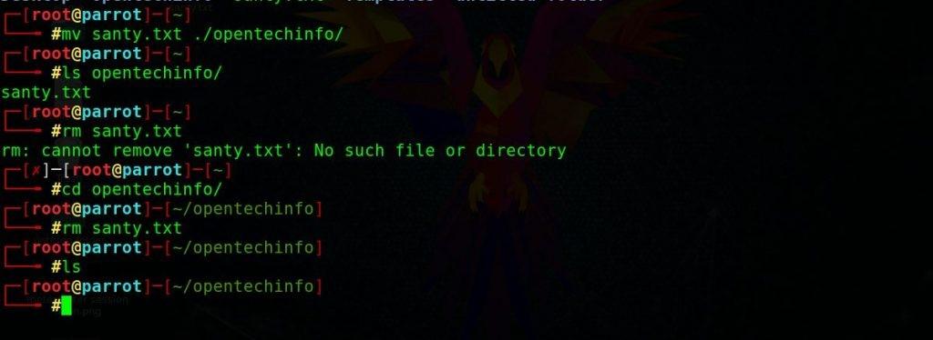 opentechinfo-h5ckfun Commandes basiques du hacking avec Kali Linux