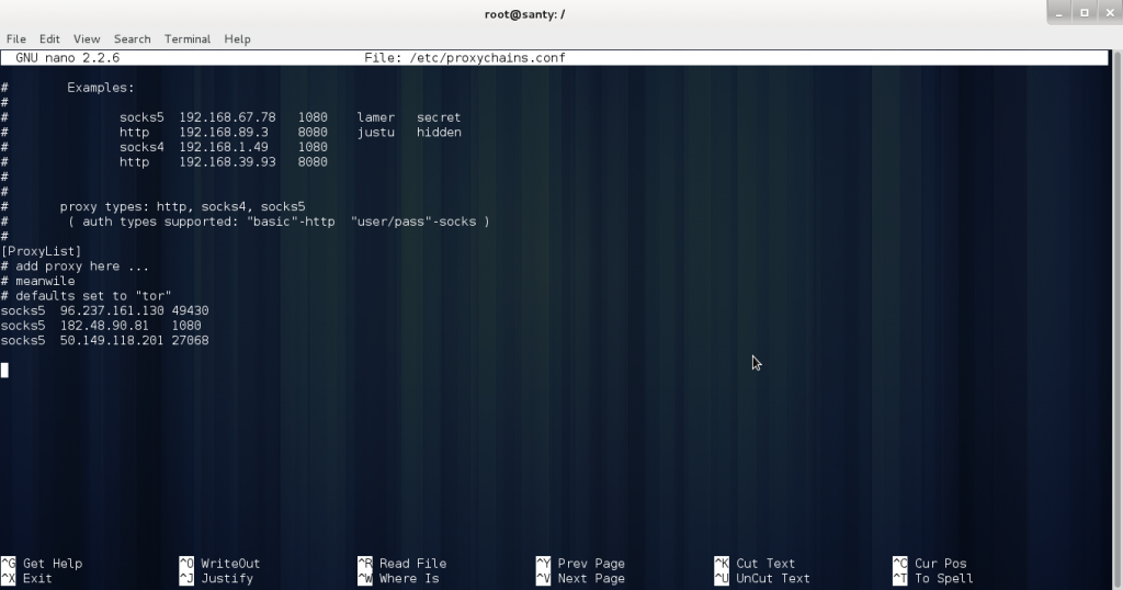 root-2-h5ckfun Comment masquer son adresse ip avec Proxychains