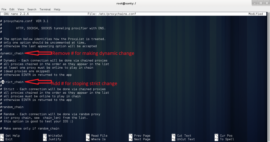 root-h5ckfun Comment masquer son adresse ip avec Proxychains