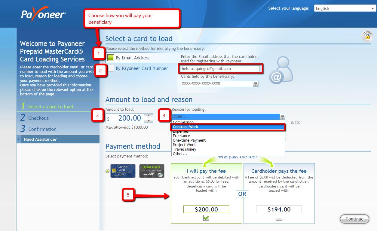 how-to-use-payoneer-5 Comment utiliser Payoneer pour recevoir des paiements ou rémunérer du personnel à distance