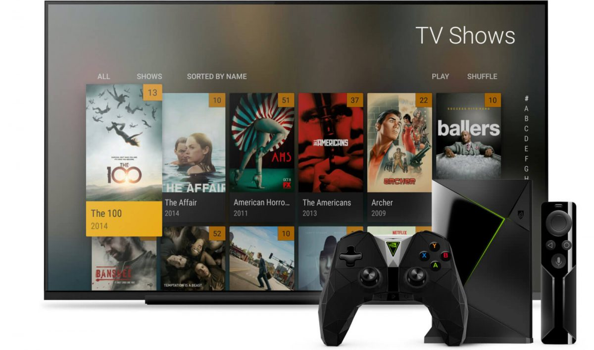 nvidia shield tv regarder la t l en direct gr ce plex. Black Bedroom Furniture Sets. Home Design Ideas